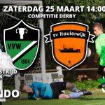 Komende zaterdag de derby: Waskemeer - Haulerwijk