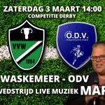 Live muziek na de derby Waskemeer - ODV