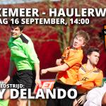 Bekerderby: Waskemeer - Haulerwijk