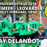 Waskemeer - Leovardia met live muziek na de wedstrijd!