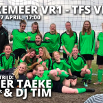 Dames 1 - TFS met Live Muziek van Taeke en DJ Tim!