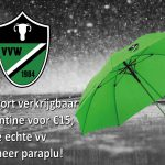 Binnenkort verkrijgbaar: de vv Waskemeer paraplu!