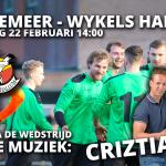 Waskemeer - Wykels Hallum met live muziek: Criztiaan