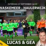Waskemeer - Haulerwijk met live muziek: Lucas & Gea