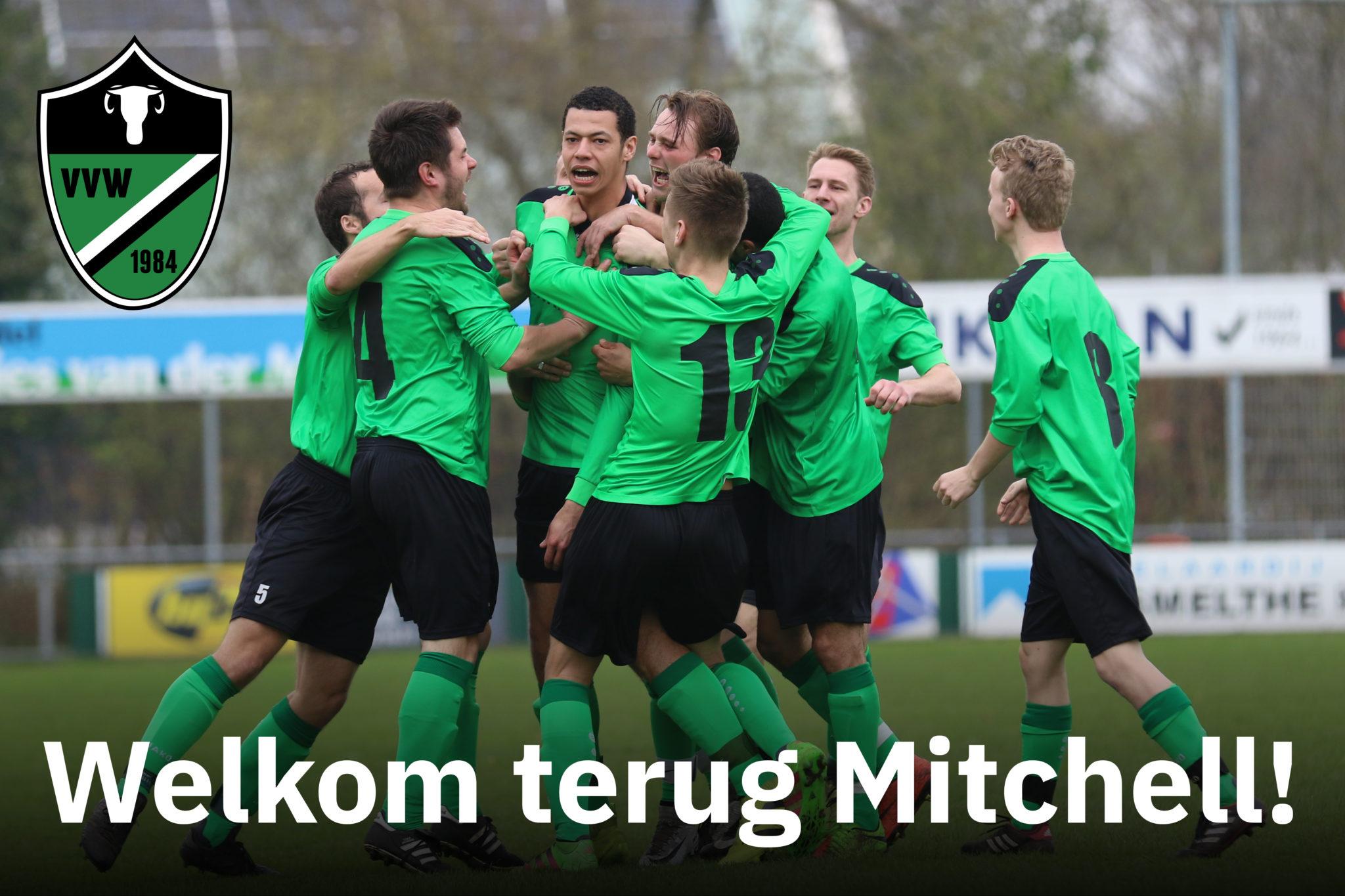 Mitchell Schievels keert terug naar Waskemeer