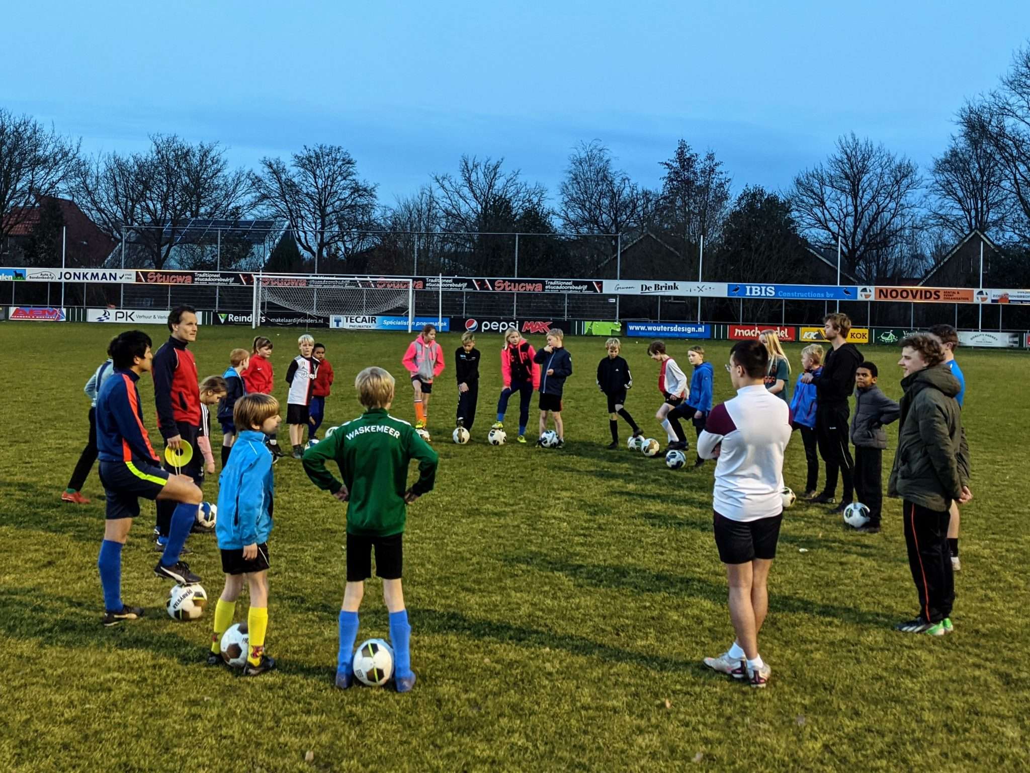 Hervatting trainingen jeugdteams