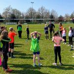 Geslaagde open training op zonnig sportpark 't Ald Leger
