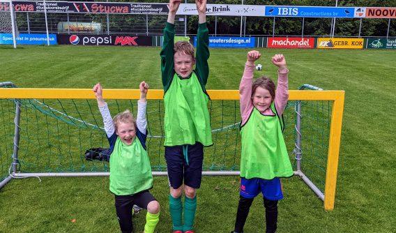 Geslaagde voetbalzaterdag op sportpark 't Ald Leger