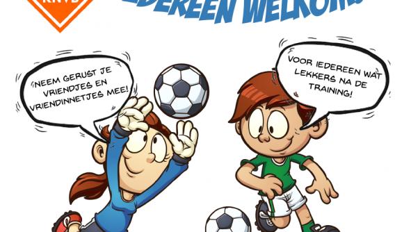 Feestelijke nationale voetbaldag op 12 juni