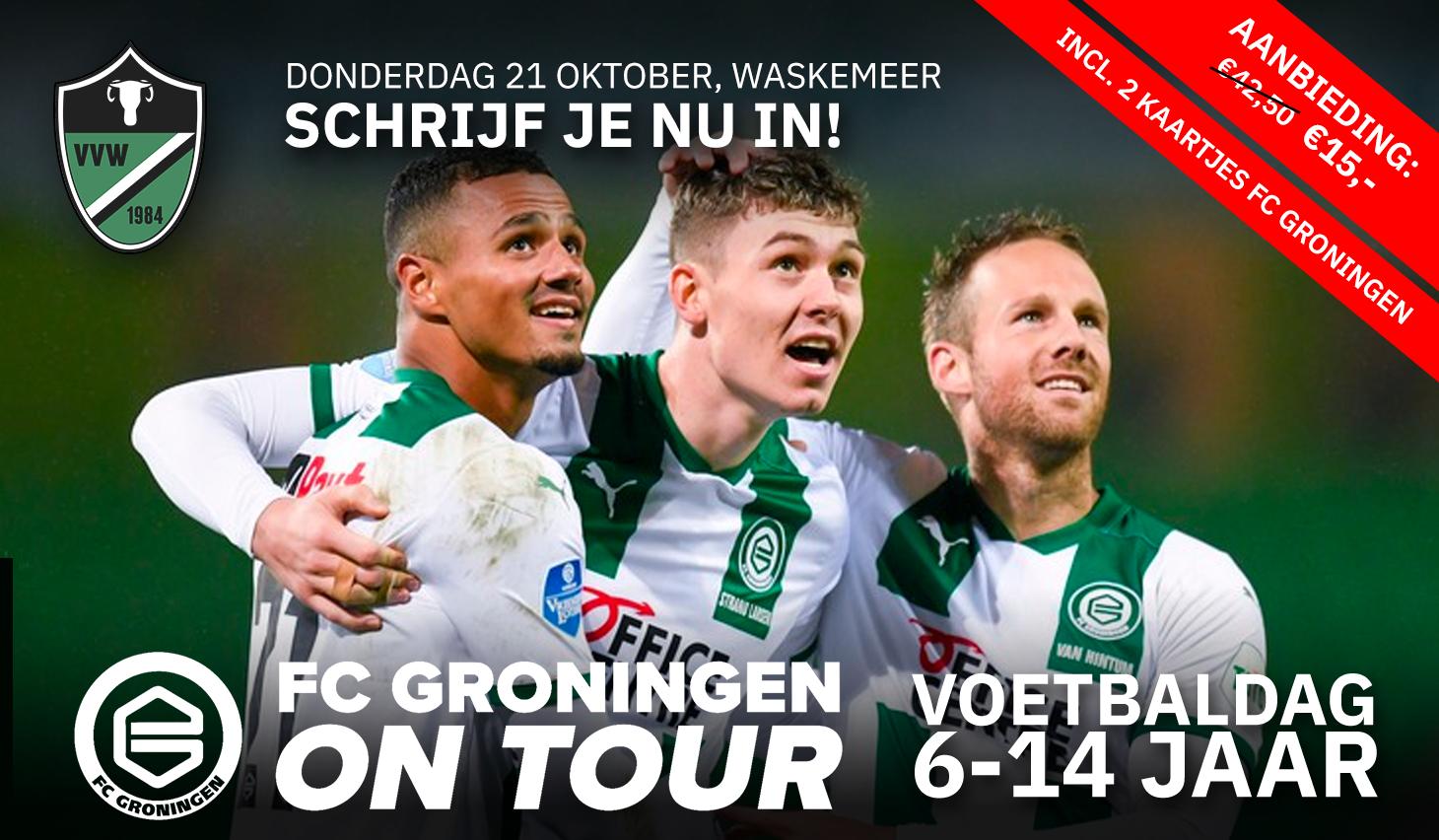 Groningen on Tour komt naar Waskemeer!