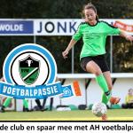 Spaar mee met AH Voetbalpassie voor onze vereniging