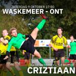 Waskemeer - ONT om 17:00, na afloop live: Criztiaan